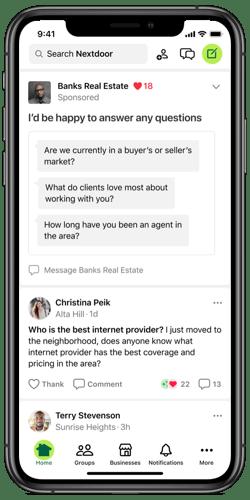 Conversation Starter Ad - RE Agent