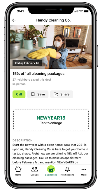 New Year Local Deal House Cleaning