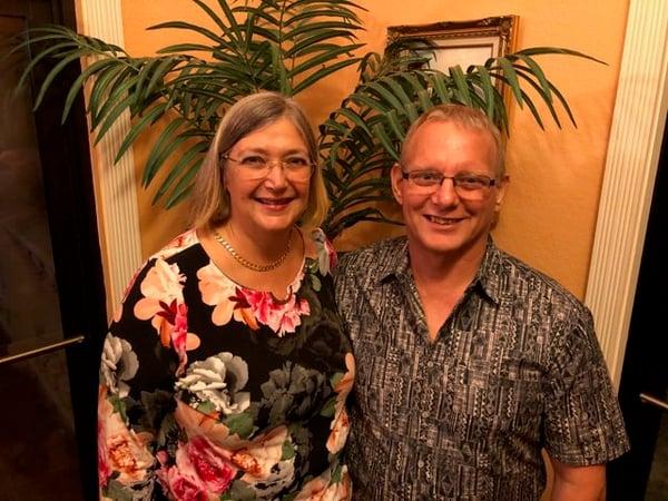 Nick and Sue Randall of La Fiorentina