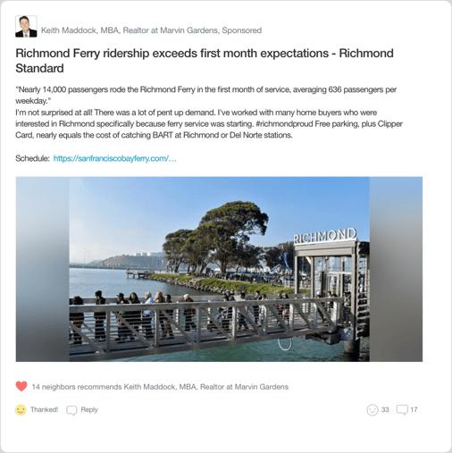 Nextdoor Real Estate Agent Local Expert Local News Post