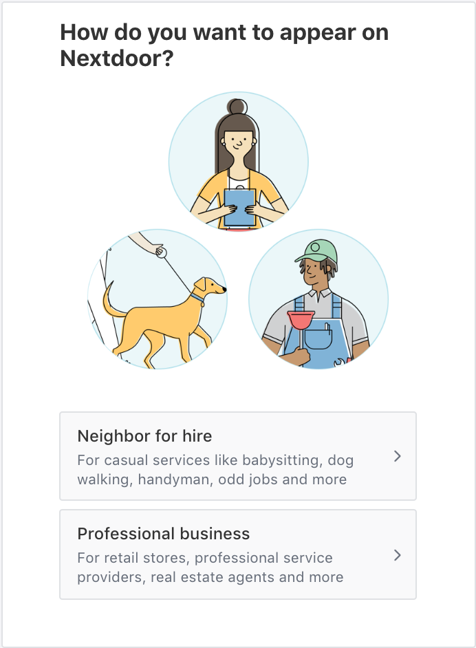 Creating a Business Page on Nextdoor